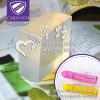 供应炫彩棒油画棒荧光笔芯制作材料采用深圳卓野生产的透明固体蜡