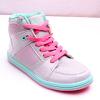 供应童鞋2015秋季新款女童运动鞋儿童单鞋高帮男童鞋休闲鞋板鞋潮银色