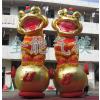 供应广州全优能充气模型|金色系列充气气模|金色双狮造型|婚庆喜宴开业活动适用