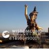 供应衡阳广场人物玻璃钢雕塑