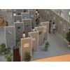 供应名人画展展示-画展展示铝合金屏风-展示隔断-展览隔墙