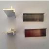 供应展柜层板拖-铝合金层板拖-八菱柱板拖-展示柜玻璃拖-折叠柜玻璃拖