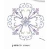 供应家具水移画贴纸JJ-4478.10贝雕花1.38米圆桌面专用