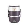供应名友新款2.6L三层蒸煮饭盒 电热饭盒