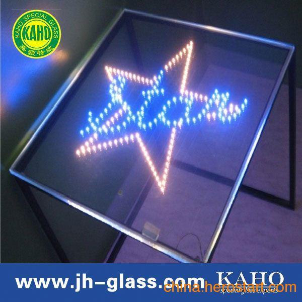 供应LED玻璃、LED发光玻璃 电光源玻璃