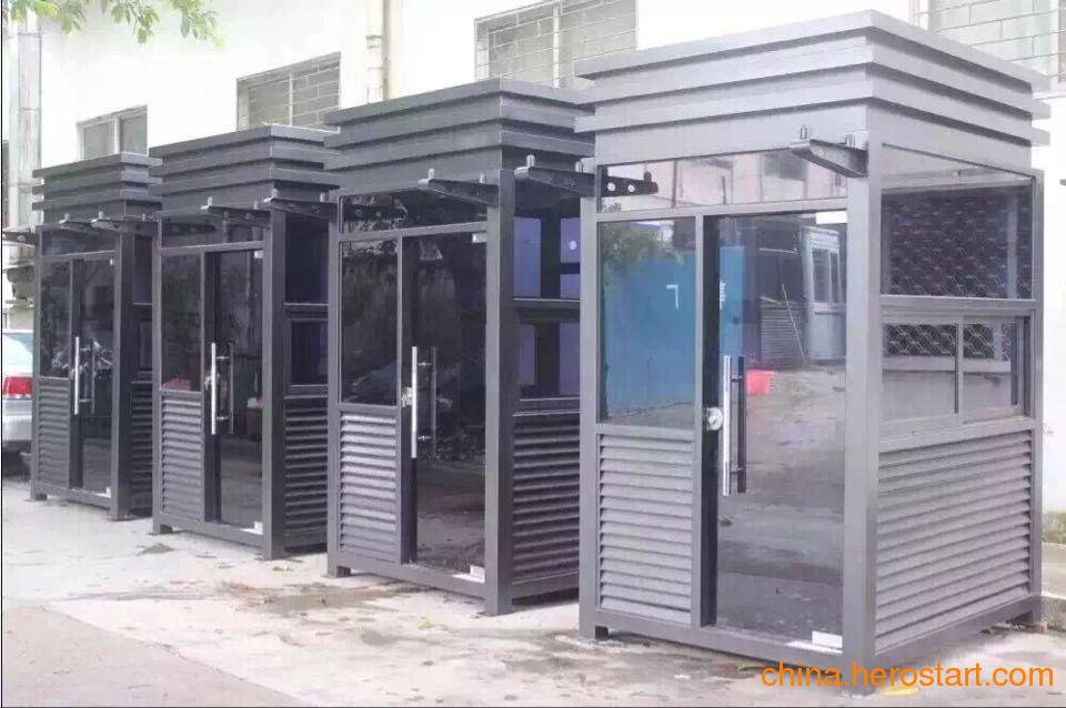 供应福安创新型高端艺术岗亭 钢结构售货岗亭首选福州赢隆