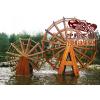 供应重庆专业生产水车防腐木水车园林景观水车私家水车大水车小水车