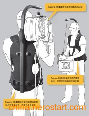 供应瑞典易事背Easyrig 3便携式电影级手持稳定器支撑臂称重12-15公斤