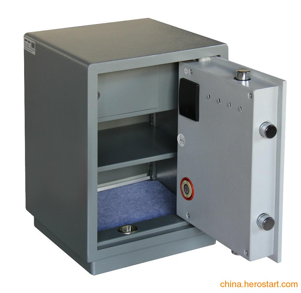 供应厂家直销白莲钢质保险柜