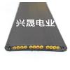供应电镀设备专用天车行车随行扁电缆 12芯1.5平方排线