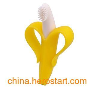 供应动漫宝贝婴儿硅胶磨牙器 安抚固齿无毒