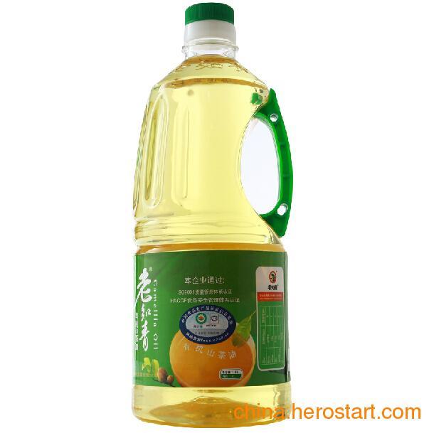 供应老知青有机山茶油1.8L 野山茶油 茶籽油 压榨一级 食用油 茶油