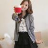 供应重庆韩版粗线加厚女装羊毛衫批发 广州十三行便宜女式毛衣批发