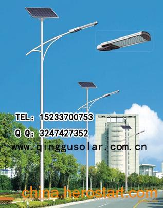 供应内蒙古呼和浩特|呼伦贝尔3-5米太阳能路灯