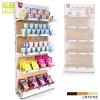供应乐品单面木纹背板货架 木质精品货架 超市/便利店/母婴/化妆品店