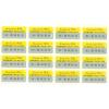 供应电码防伪标 卷状纹理加烫印防伪标签印刷 全息防伪商标