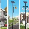 山东太阳能庭院灯 太阳能路灯价格—金太阳光电引领21世纪时尚