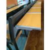 供应多媒体阶梯教室课桌椅厂家直销//多功能课桌椅尺寸