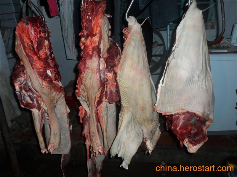 青岛带皮驴肉厂家/苍山居村润龙驴肉