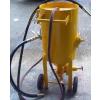 供应钢结构喷涂前处理移动式喷砂机