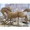 供应玻璃钢马雕塑厂家/