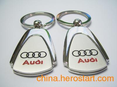 供应深圳金属礼品钥匙扣定制钥匙链订做厂家