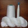 供应30S/1粘棉混纺纱线(R40/C60),本白针织纱