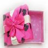 莆田涤纶织带韩版包装结 在哪有卖优质的酒店婚庆蝴蝶结织带巧克力包装结