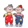 供应森宝猴公仔 可爱毛绒玩具玩偶 生肖猴布娃娃猴年吉祥物