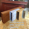 供应深圳市热转印木纹铝方通 铝方通厂家-欧百建材