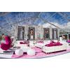 供应20m跨度透明国际高端人士新世纪婚礼篷房安装销售出租租赁