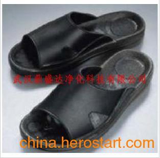 供应品质保证防静电PU拖鞋防静电黑色拖鞋防静电鞋