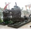 供应翰鼎铜雕狮子,金属雕塑制作
