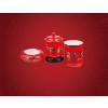 供应关心满一壶,西安礼品壶,西安红玫瑰商务茶具组合