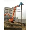 钢板桩加长臂改装、液压振动锤制作、9-18米打桩臂供应