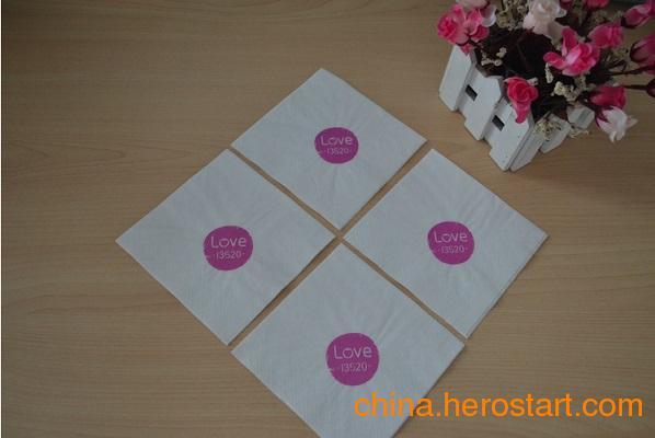 供应印花餐巾纸盘纸