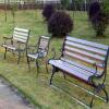 供应供兰州公园铁艺座椅和甘肃公园墙椅