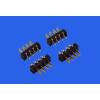 供应插拔式4PIN电池连接器间距2.5PH 公母配套4PIN电池座