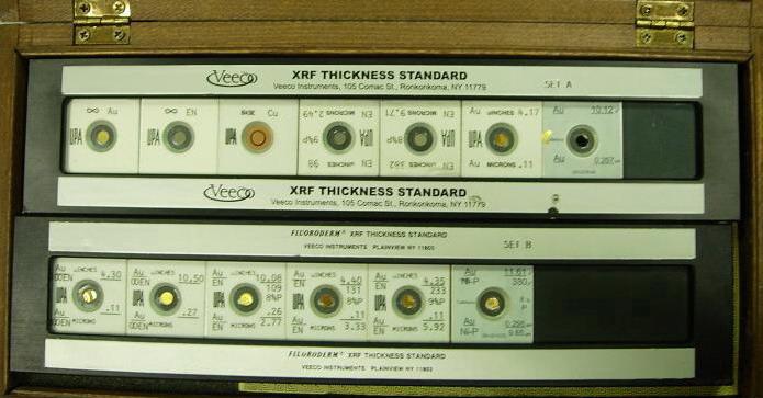 供应cmi fisher 膜厚测试仪标准片