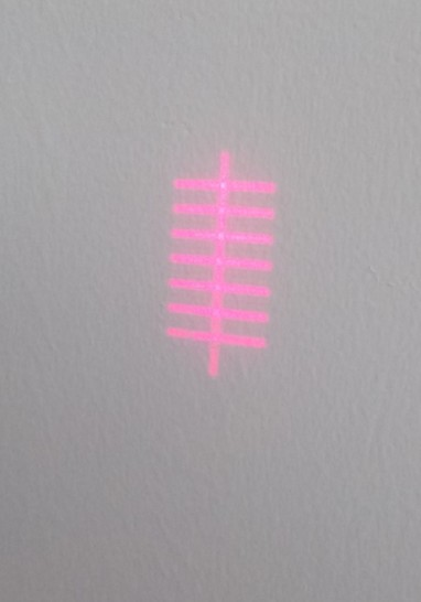 供应七横一竖定位灯