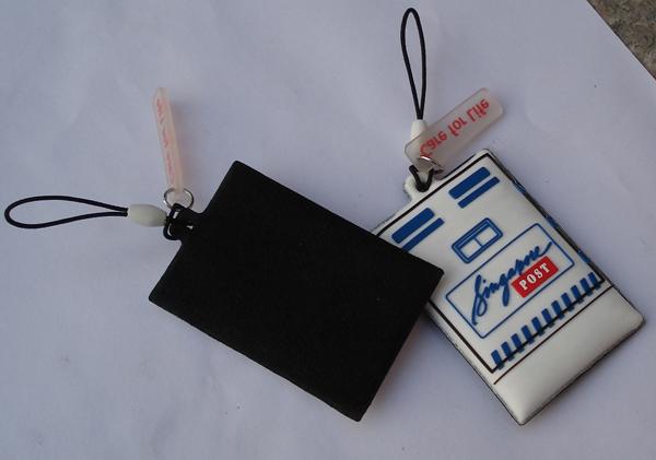 供应手机擦,PVC手机屏幕擦,手机吊饰