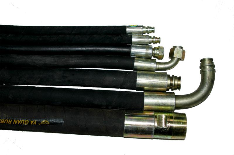 供应高优东北高压胶管dn吉林高压胶管总成