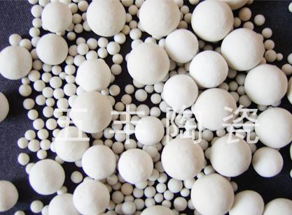 供应惰性氧化铝瓷球(惰性瓷球)