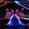 供应发光鞋带 发光的鞋带 带灯的鞋带 夜光鞋带 LED鞋带