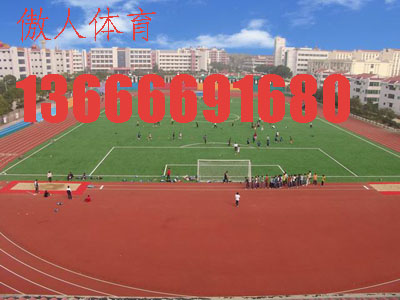 供应杭州人造草足球场铺装宁波人造草安装绍兴人