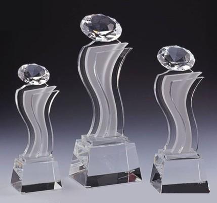 供应西安奖杯水晶奖杯定做批发
