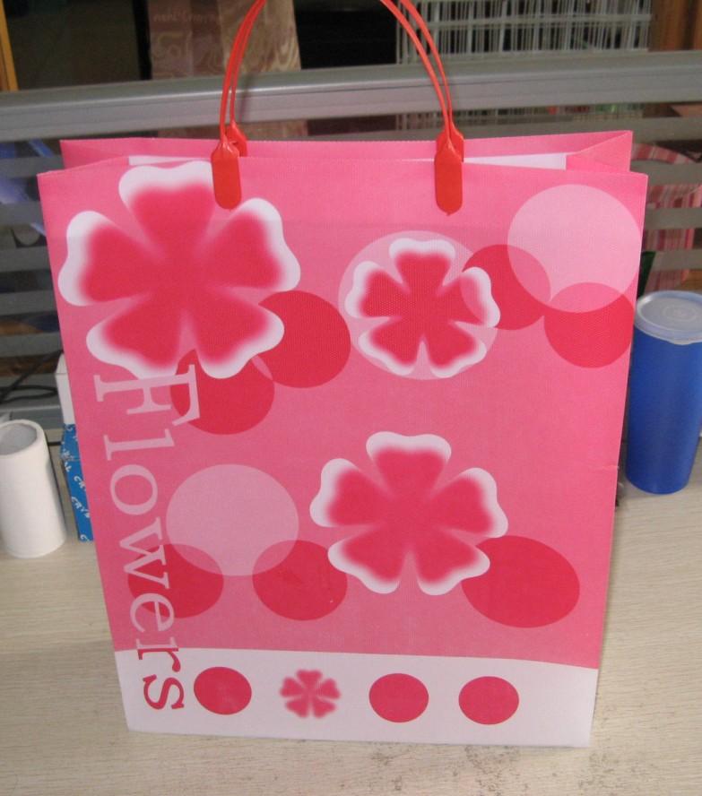 供应PP礼品袋/手提袋/鲜花袋