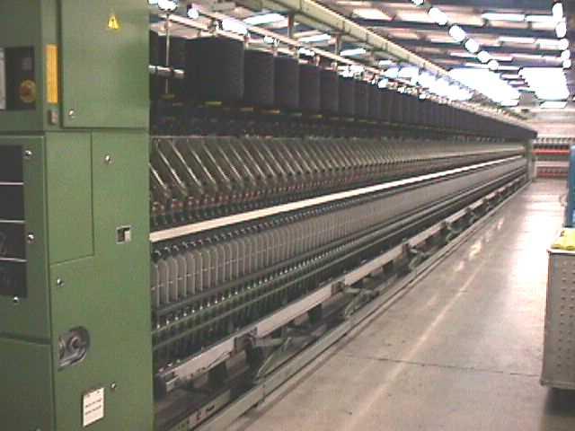 供应欧洲二手气流纺纱机进口代理/进口纺织设备