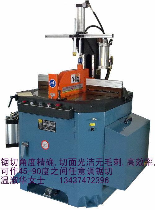 供应45度角铝合金切割机 东莞铝框切割机,