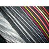 供应耐磨钢丝绳,PU包胶钢丝绳,包胶钢丝绳